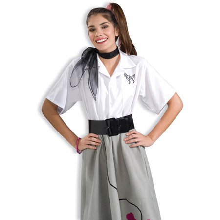 Poodle Blouse Adult Halloween Costume - Halloween Buses