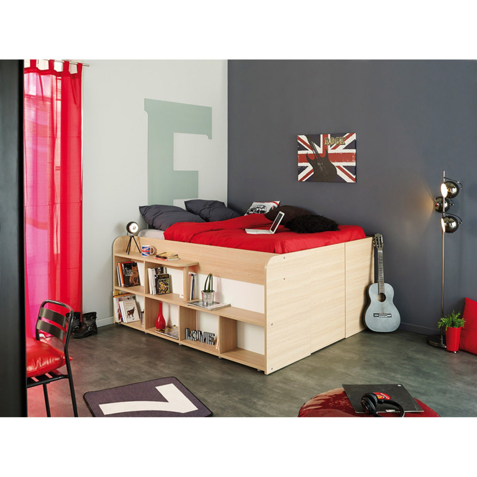 Parisot Space Up Storage Bed   Full