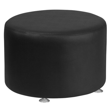 Flash Furniture HERCULES Alon Series Black Leather 24'' Round -