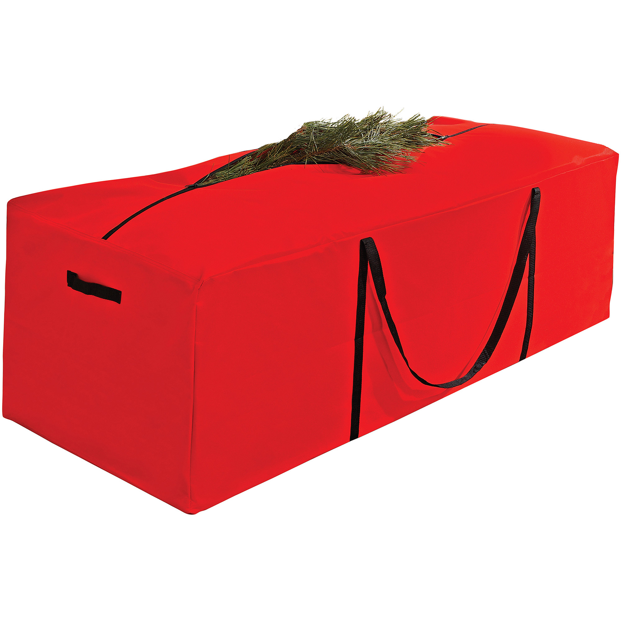 Simplify Christmas Tree Storage Bag, Holds 9.5' Artificial Tree, Red