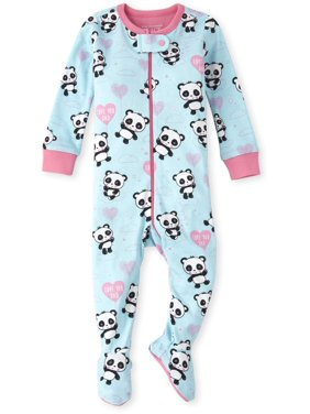 The Children's Place Baby & Toddler Girl Long Sleeve Stretchie Pajamas