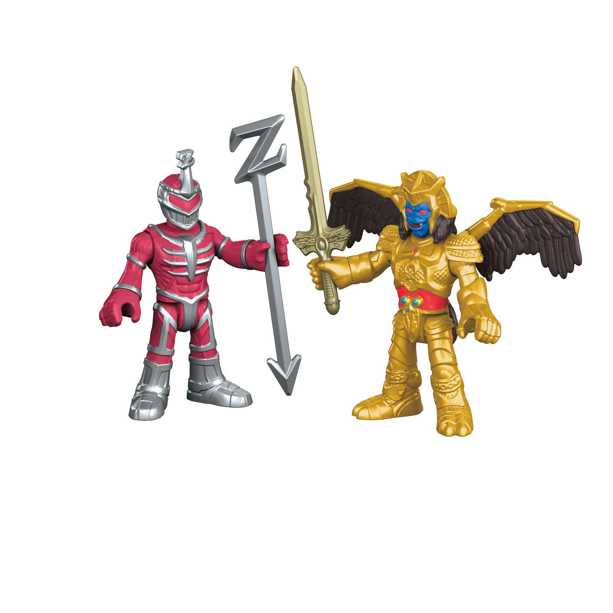 Imaginext Power Rangers Goldar and Lord Zedd