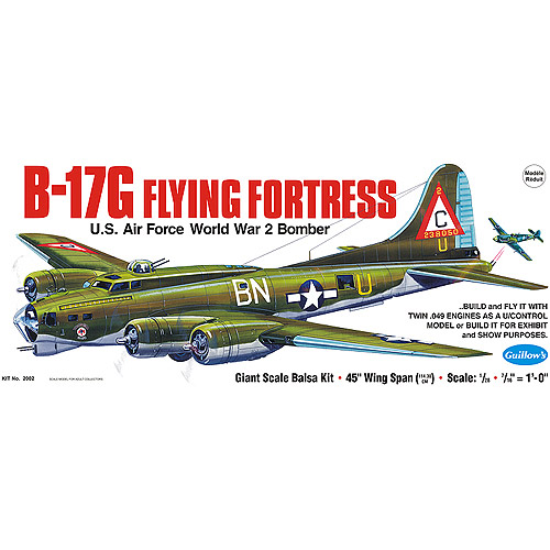 Guillow's Boeing B-17G Flying Fortress Model Kit by Generic