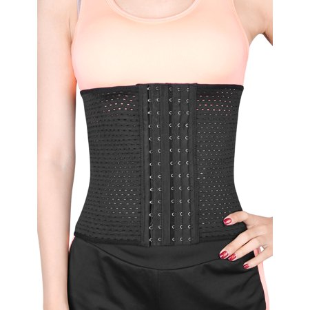 - Black XXXL Size 6 Row Postpartum Abdominal Belt Belly Shapewear