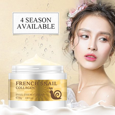 Snail Face Cream Hyaluronic Acid Moisturizing Anti Wrinkle Anti Aging Collagen Repairing Day Cream Skin (All Natural Anti Aging Skin Care Products)
