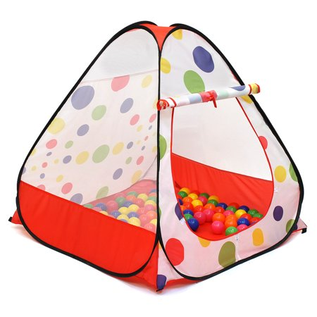 Kiddey Kids Play Tent - Indoor / Outdoor Children Play Tent -Great Gift for Toddler - Easy Setup With Pop Up Technology, Safe and Sturdy - (BALLS NOT INCLUDED) By Kiddey™ - Great Outdoors Gift Set