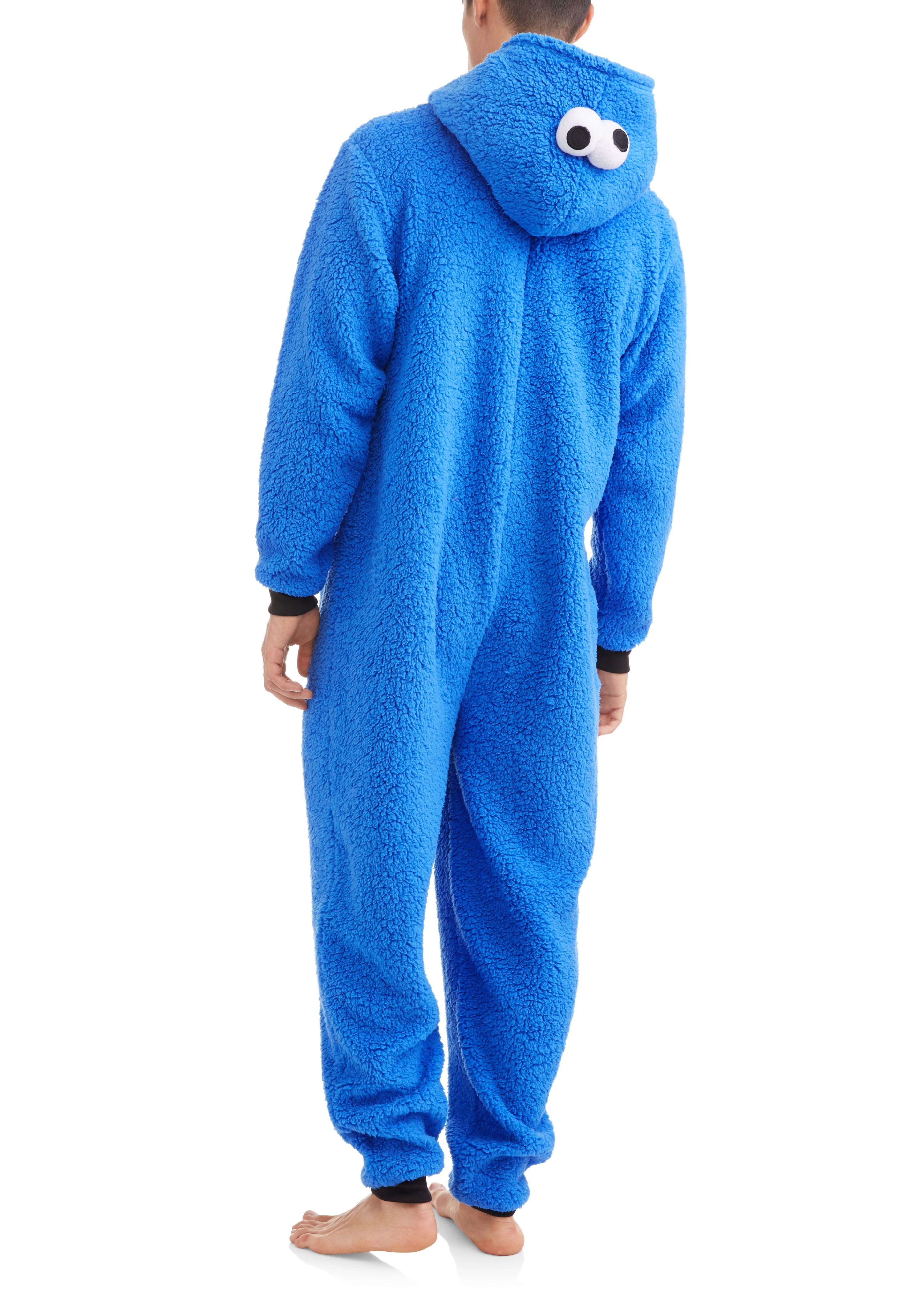 Cookie Monster Men s esie Union Suit Walmart