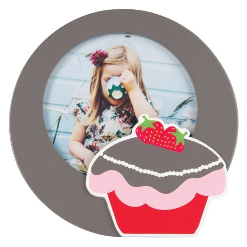 Strawberry Cake Wooden Photo Frame