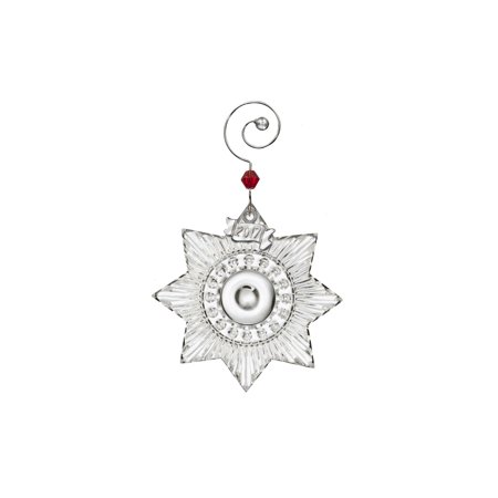 2017 Waterford Miniature Star Crystal Christmas Tree Ornament Decoration -