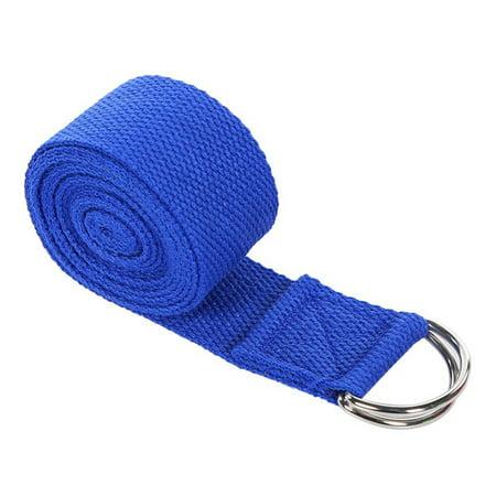KABOER Modern 183 Cm Sport Yoga Stretch Strap D Ring Belt Gym Waist Leg Fitness