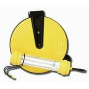 Bayco SL-82713w Fluorescent Work Light on 50ft Metal Reel