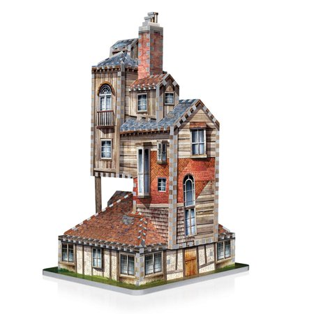 Wrebbit 3D Harry Potter Burrow - Weasley Family Home Jigsaw Puzzle 415 Piece - image 2 of 4