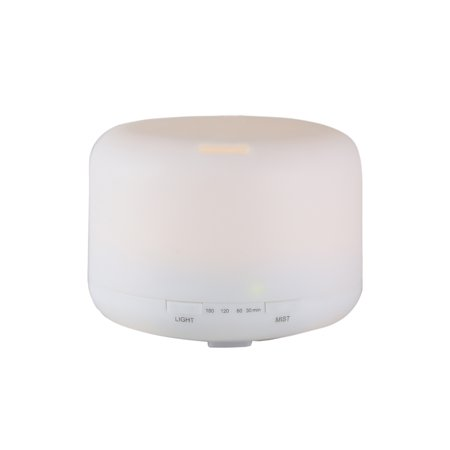 Euro Style Collection Ultrasonic 120 Ml Oil Diffuser with LED -
