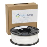 MakeShaper White ABS 3.0mm Filament (1Kg)