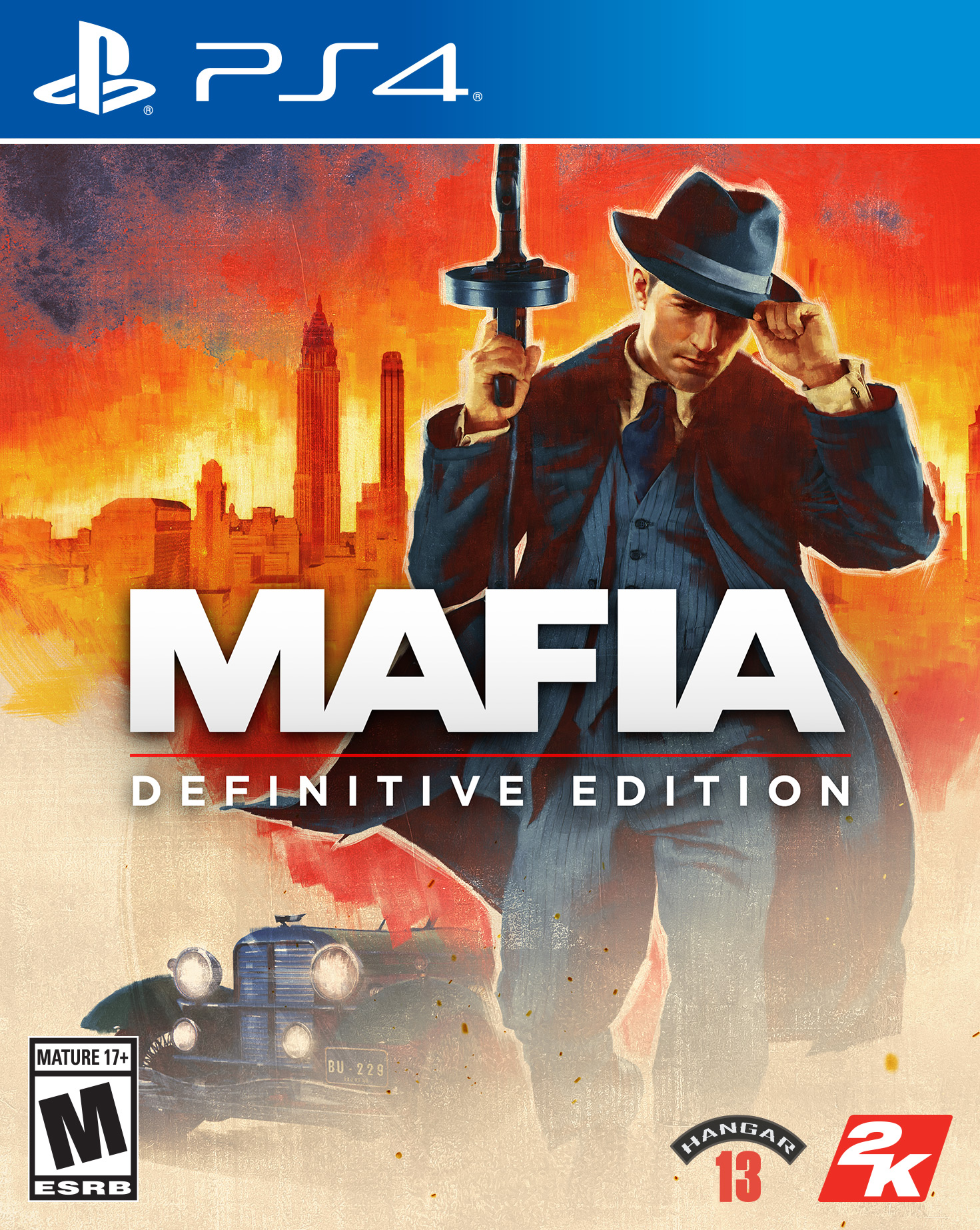 Mafia Definitive Edition, 2K, PlayStation 4