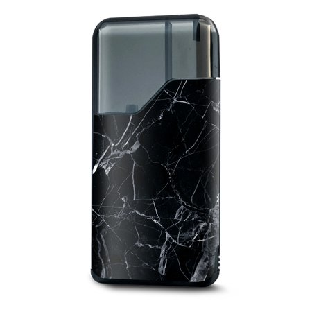 Kit Gunite - Skin Decal Vinyl Wrap for Suorin Air Kit Vape skins stickers cover / Black Marble Granite White