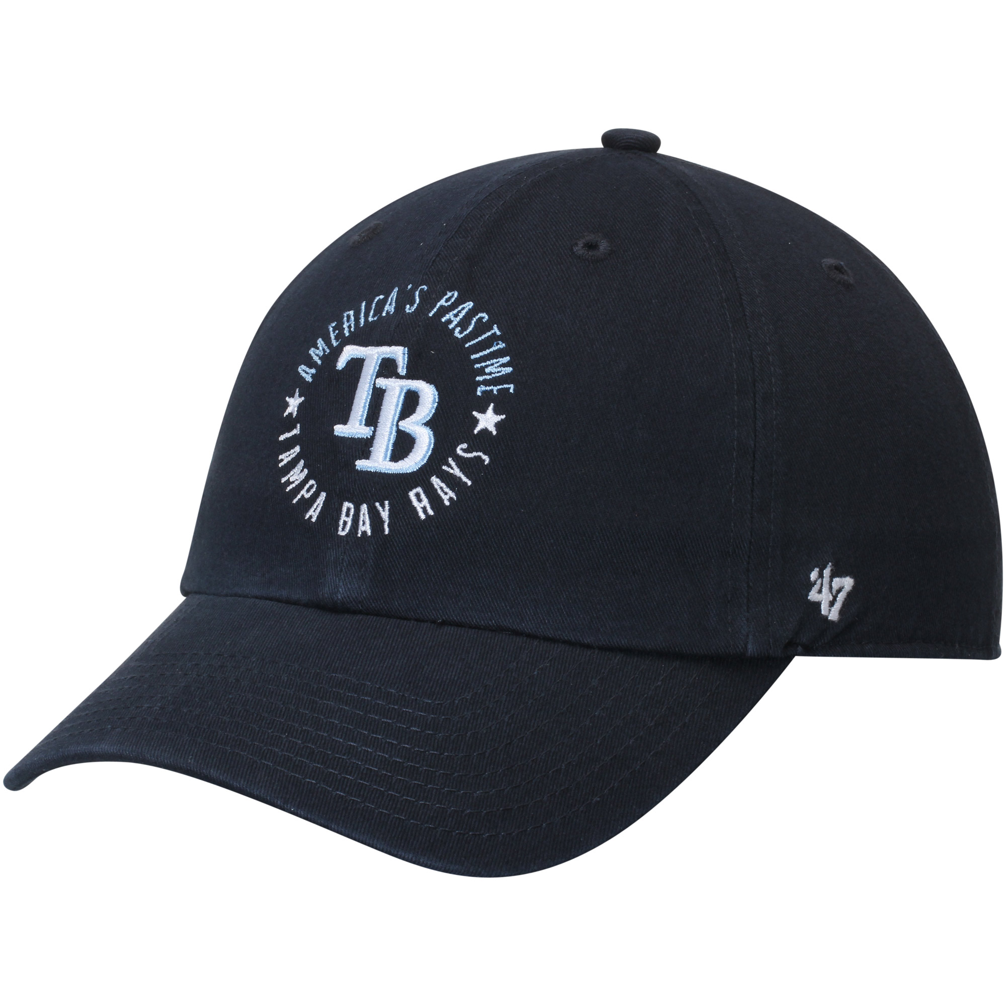 Tampa Bay Rays '47 America's Pastime MVP Replica Adjustable Hat - Navy - OSFA
