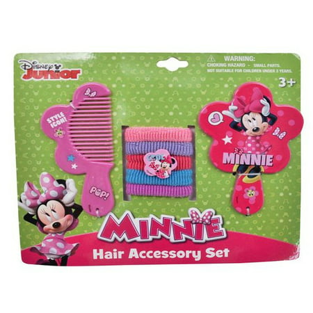 Minnie Mouse Hair Bow (Licensed Character 7pc Hair Accessory)