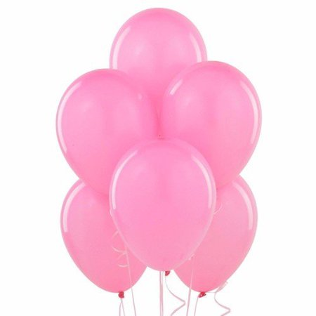 "Wideskall 9"" Multi Colors Helium Latex Balloon for Birthday Party Wedding Balloons, Pink - Pack of 20"