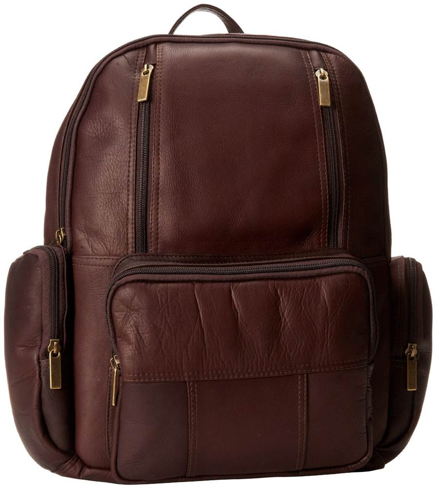 Laptop Backpack (Tan)
