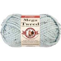Mega Tweed Yarn-Soft Blue Tweed
