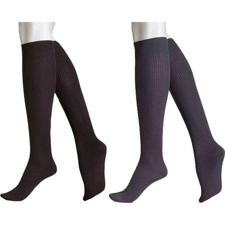 ae7d80225 No nonsense - Women s Boot Socks Sleek 17 - 2 Pair - Walmart.com