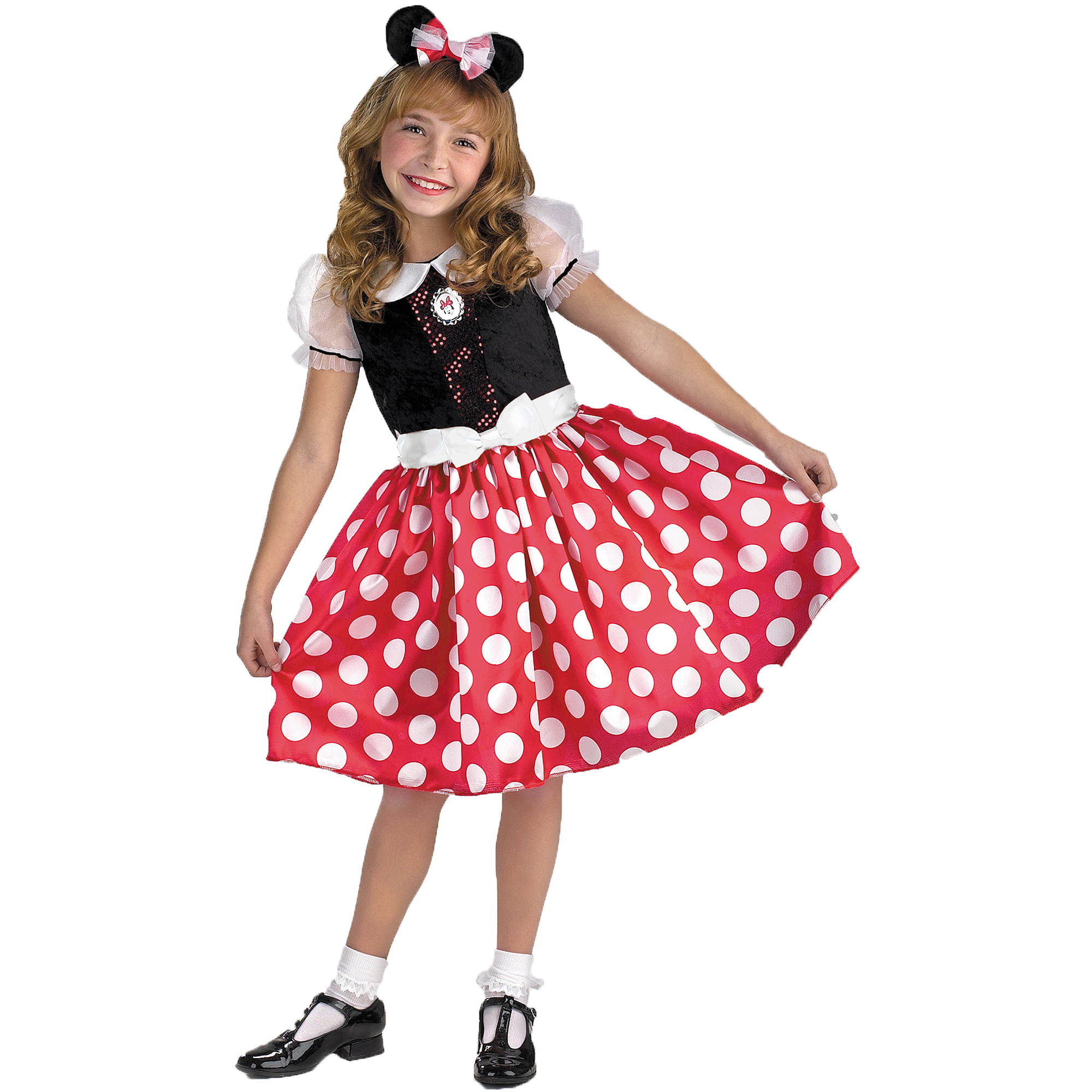 Minnie Mouse Child Halloween Costume  sc 1 st  Walmart & Minnie Mouse Halloween Costumes
