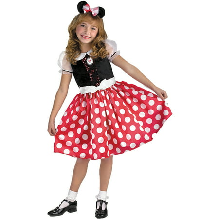 Minnie Mouse Child Halloween - Christmas Minnie Mouse Costume