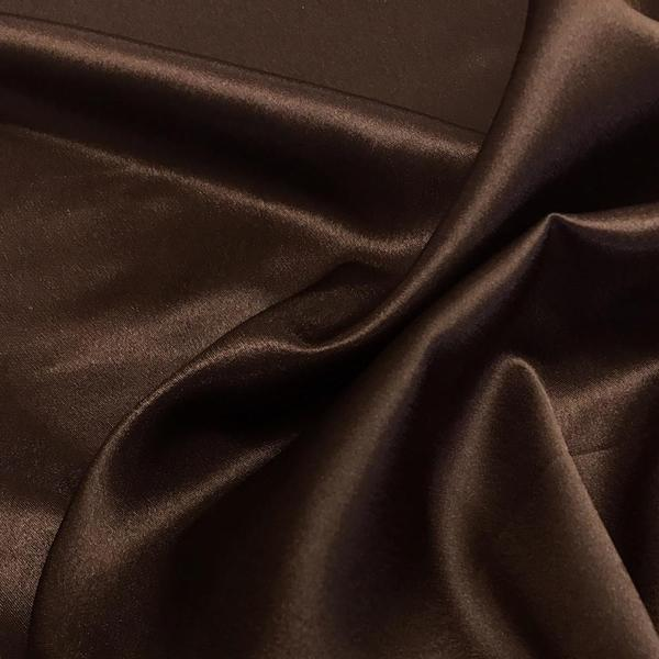 "Crepe Back Satin Bridal Fabric Drapery Soft 60"" Inches By the Yard (White)"