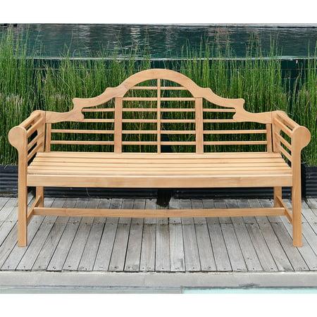 Willem Teak 5' Lutyen's Bench (Set Teak Bench)