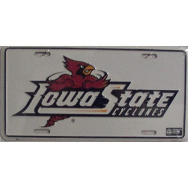 LP - 919 Iowa State Cyclones License Plate - 693