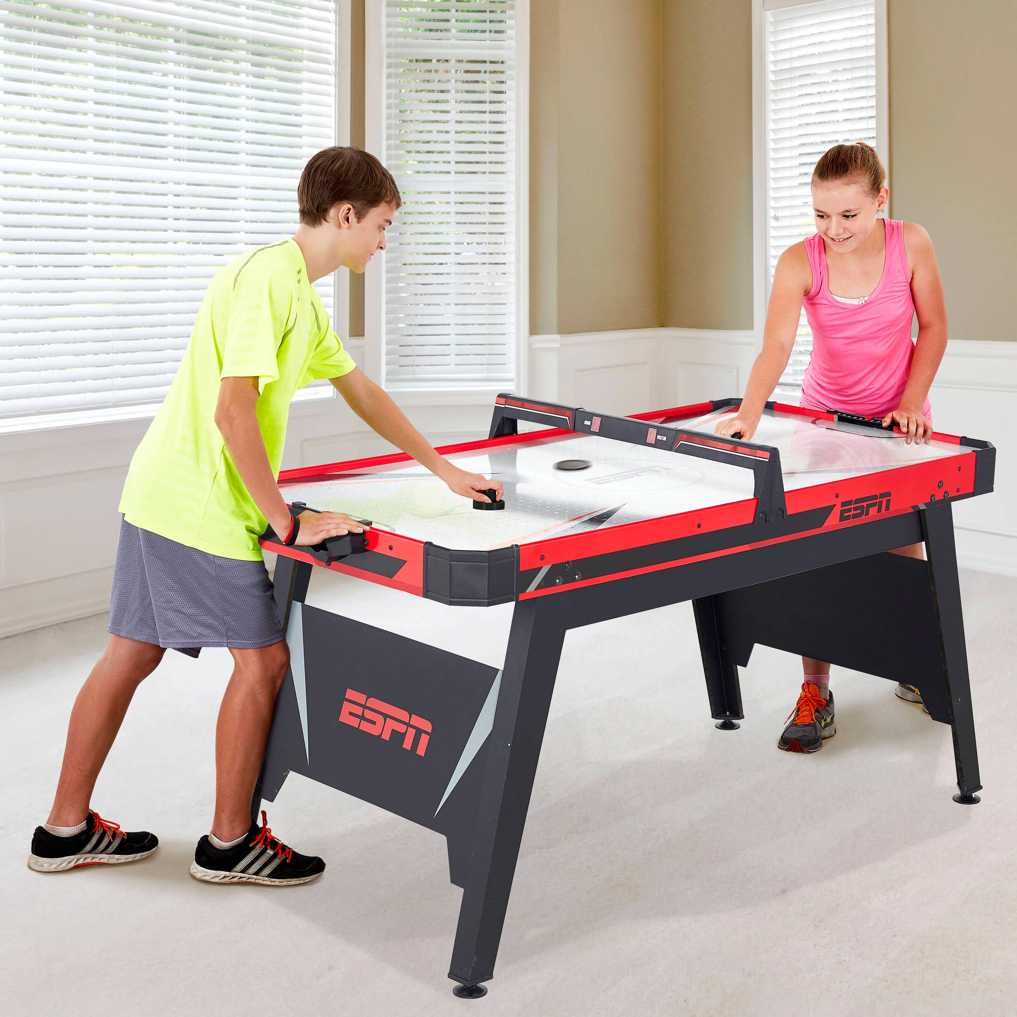 "ESPN 60"" Air-Powered Hockey Table"