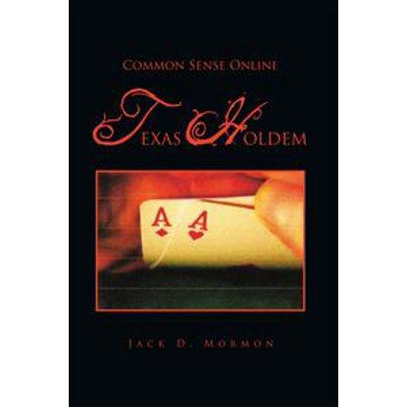 Texas Holdem Tournament Software - Common Sense Online Texas Holdem - eBook