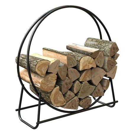 15209 40-Inch Tubular Steel Log Hoop, 40-inch log hoop By Panacea (Panacea Log Hoop)