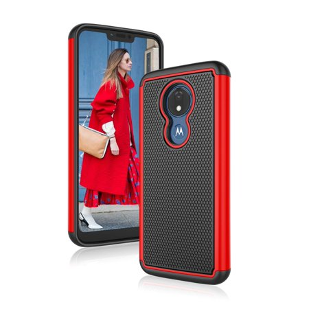 new arrival 48f4d 58c39 Motorola Moto G7 Power Case, Phone Cases for Moto G7 Supra, Njjex Shock  Absorption Dual Layer Heavy Duty Protective Silicone Plastic Cover Rugged  Case ...