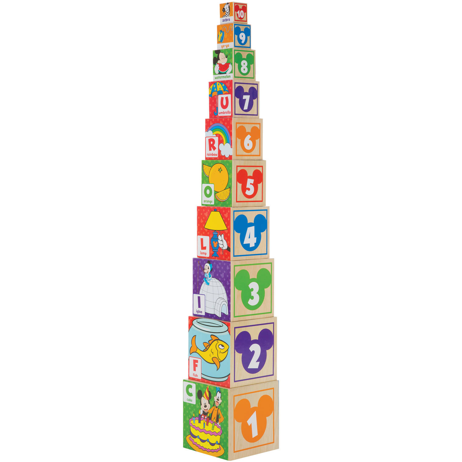 Melissa & Doug Mickey Mouse & Friends Nesting & Stacking Blocks Baby Toy by Melissa %26 Doug
