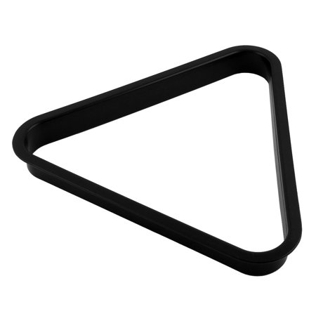 Plastic American Billiard Table Pool Ball Frame Triangle Rack Holder Black
