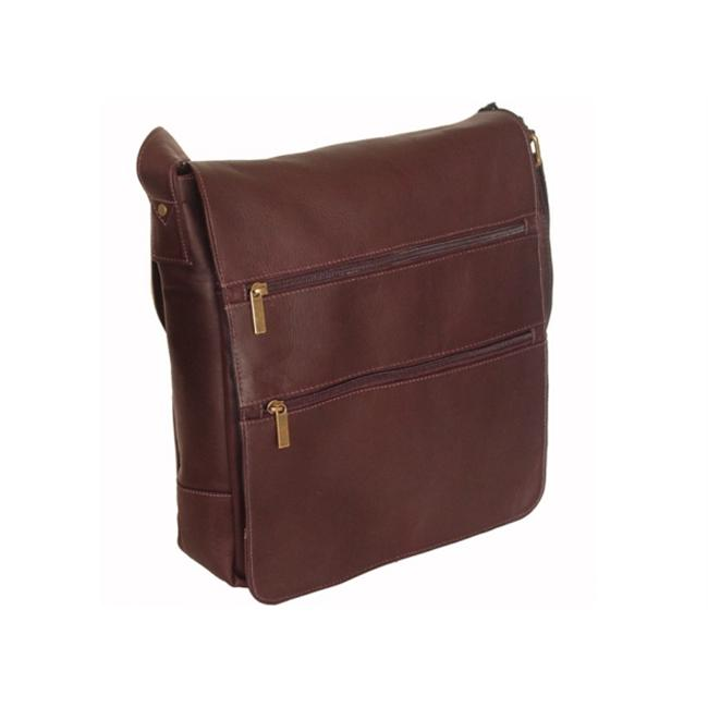 David King & Co. Laptop Messenger w/ 2 Zip Pockets