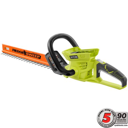 Ryobi 18v Hedge Trimmer (Ryobi 24 in. 40-Volt Lithium-Ion Cordless Hedge Trimmer - Battery and Charger Not Included RY40601B)