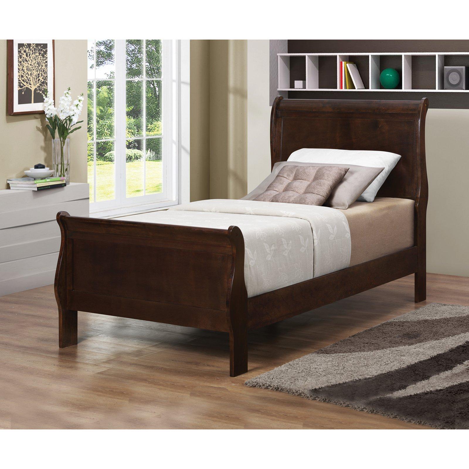 Coaster Furniture Louis Philippe III Wood Sleigh Bed