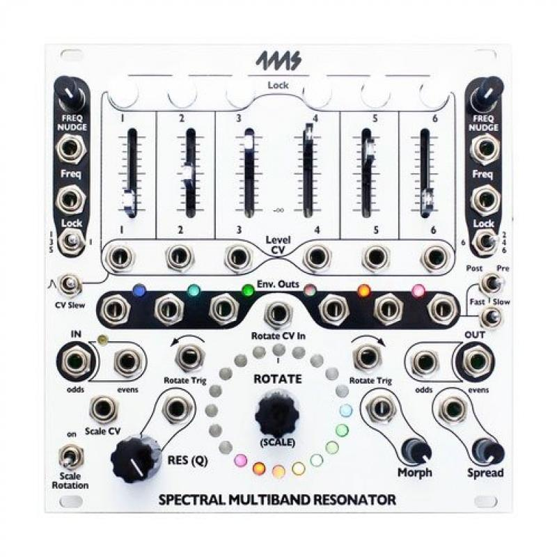 4ms Company Spectral Multiband Resonator by