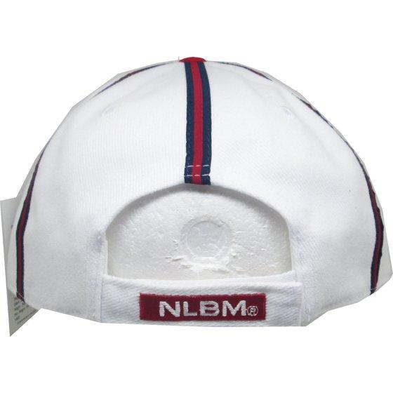 c8780e47b9df2 Big Boy Kansas City Monarchs 1942 Replica Mens Baseball Cap [White/Red -  Adjustable]