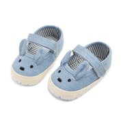 Baby Girls Shoesborn Spring Canvas Casual Baby Girls Shoes First walkers Cotton Soft Cartoon Girls Shoes Prewalker