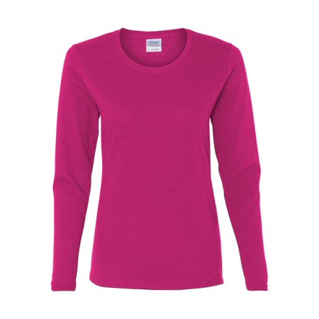 Gildan - Heavy Cotton Women's Long Sleeve T-Shirt - 5400L Devil Womens Fit T-shirt