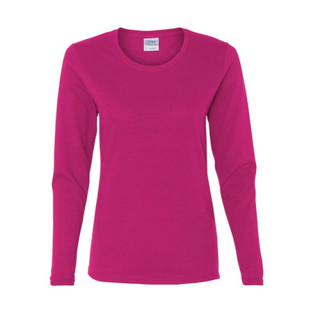 Gildan - Heavy Cotton Women's Long Sleeve T-Shirt - -