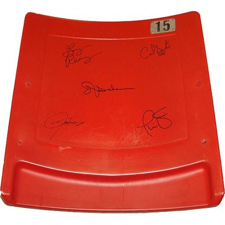New York Giants Autographed Super Bowl XXV Seatback by