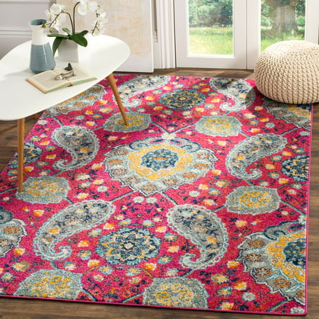 Safavieh Madison Heather Floral Paisley Area Rug or Runner ()