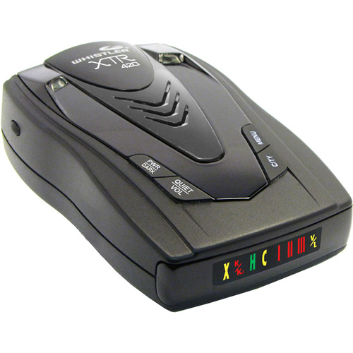 Whistler XTR-420 Battery Operated Laser-Radar Detector
