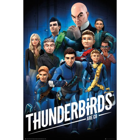 Thunderbirds Are Go - TV Show Poster / Print (Characters) (Size: 24