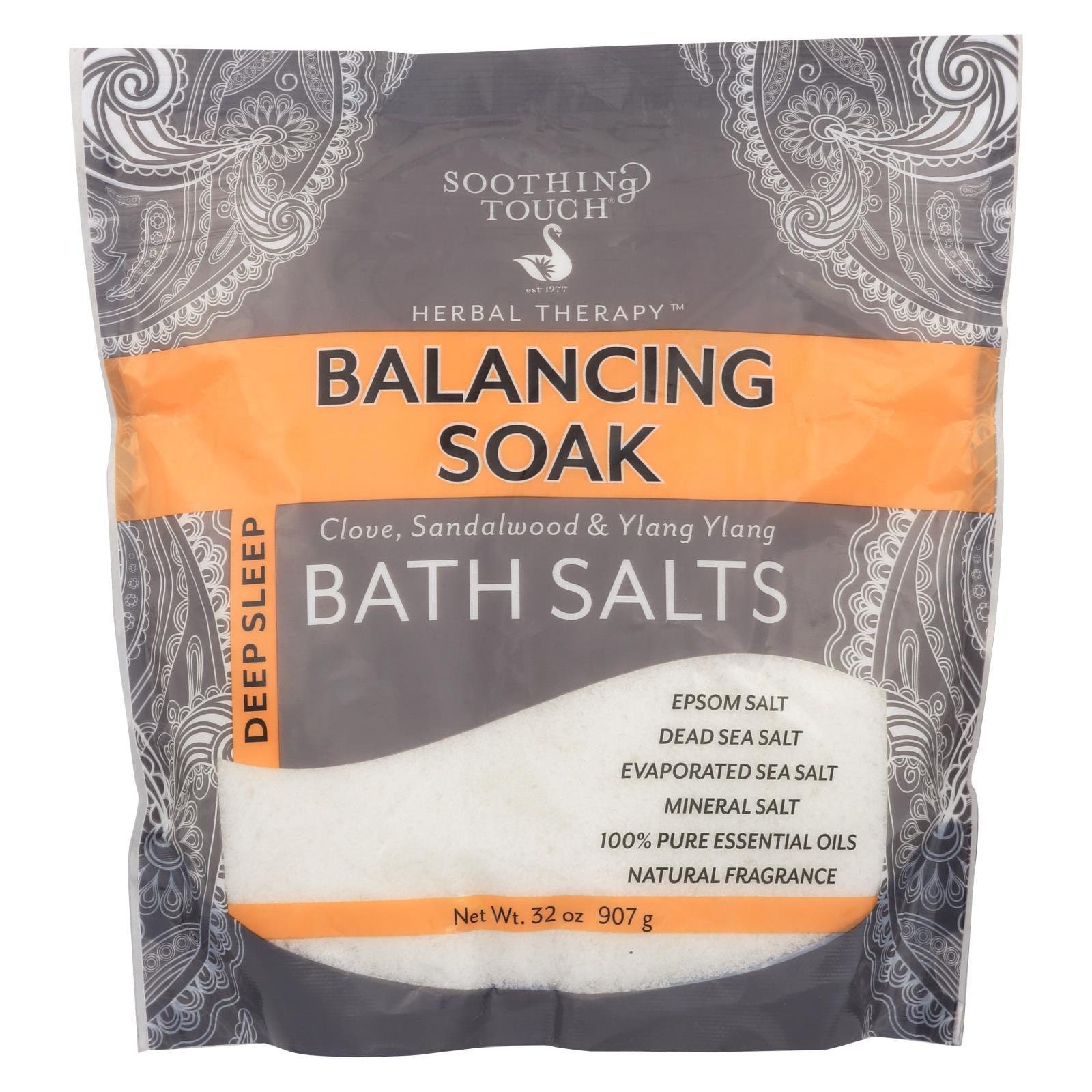 Soothing Touch Bath Salts - Balancing Soak - 32 oz